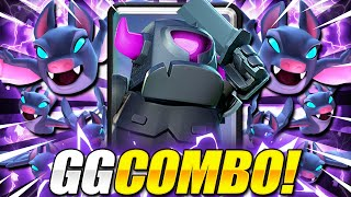NERF THIS DECK!! #1 MINI PEKKA DECK TO PUSH TROPHIES in CLASH ROYALE!! 😱