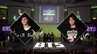 BTS 2019 \\ Mix Style Junior 1/2 Final • J Tim (Rus) vs Emy (Ita)