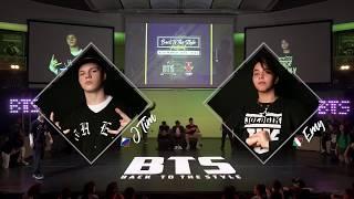 BTS 2019 \\ Mix Style Junior 1/2 Final • J Tim (Rus) vs Emy (Ita)