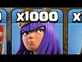 OMG!!! 1000 ACHER QUEEN ATTACK,COC HACK EVERYTHING!!!