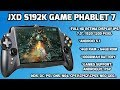 Best  Handheld Gaming System of 2017 | JXD S192K Phablet 7 inch IPS
