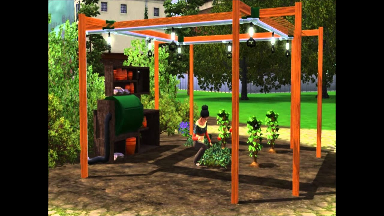 Wonderful Sims 3 Store: SwiftGro Gardening Station