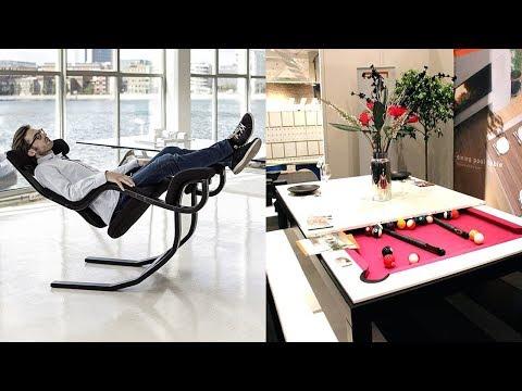 Удивительная умная мебель, которая сохранит пространство в твоем доме