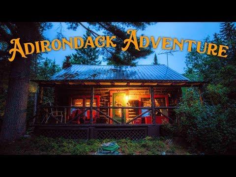 The Great Adirondack Cabin Adventure
