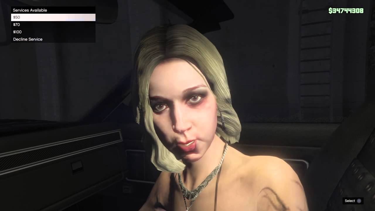 how to order a prostitute on gta 5
