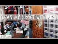 Clean My Closet With Me!