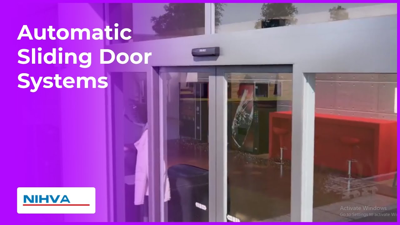 automatic sliding door systems besam sl500-nihva