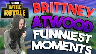 Brittney Atwood Funniest Gaming Moments on Fortnite!