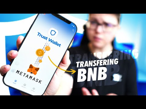How To Send BNB From Trust Wallet To MetaMask
