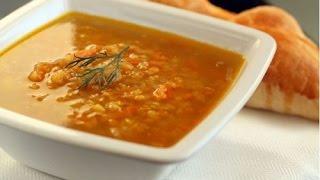 Суп из красной чечевицы для детей и взрослых!