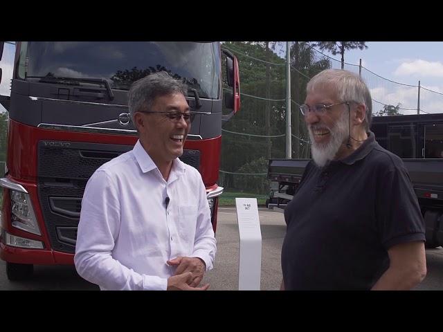 Volvo Linha 2020 (parte 2) - Entrevista Ebmac Transporte e Logística - MTED