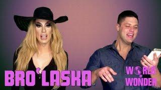 Bro'Laska w/ Alaska Thunderfuck & Cory Binney - Snapchat