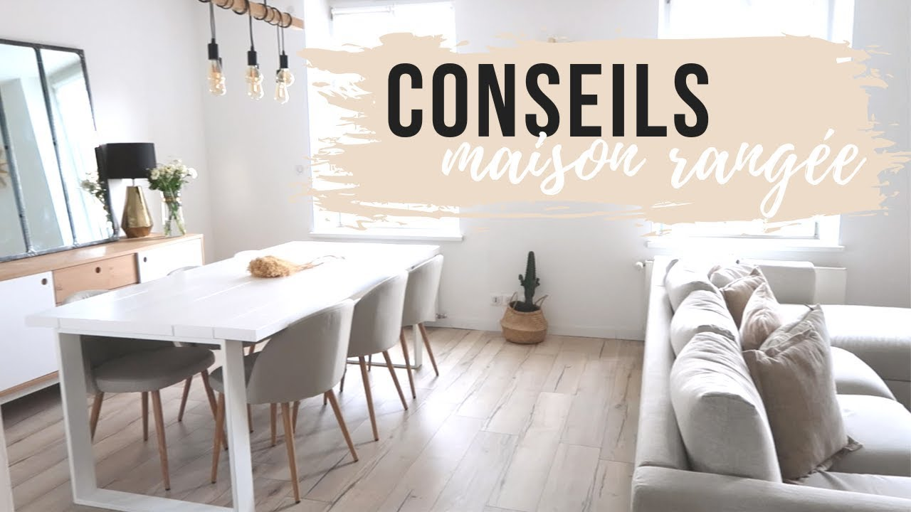 5 conseils pour avoir une maison rangée