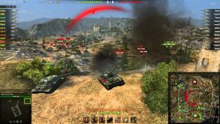 World Of Tanks ~ Clan War : A-L-M easy win