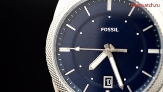Обзор кварцевых часов Fossil FS5340