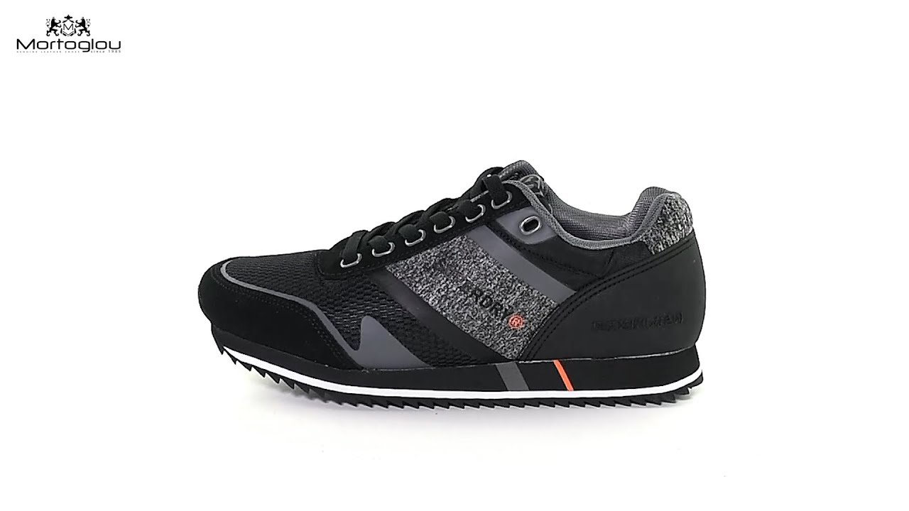 3c55e7d3a0a Ανδρικά Παπούτσια Casual Superdry MF1006SR Black Leather - YouTube