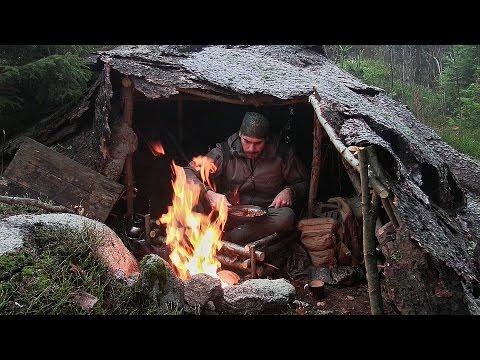 Solo Overnight Bushcraft Camp