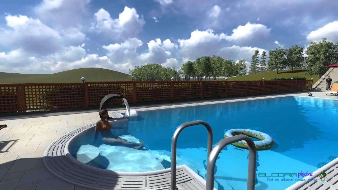 Constructii piscine proiectare 3d piscina rezidentiala for Construim piscine