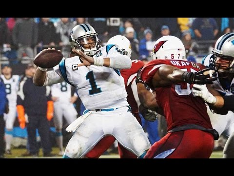 Cam Newton FIRST NFL game highlights: 422 yards & 3 TDs!