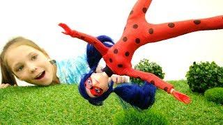 Леди Баг, Суперкот и Антибаг -  Куклы - Игры для девочек