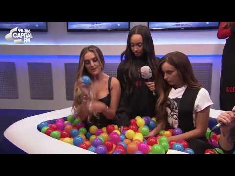 Little Mix : Interview (Capital FM's Jingle Bell Ball 2016)