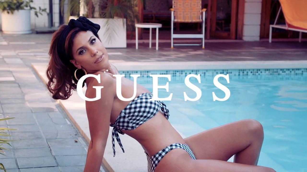 0497b53a65 A Bikini a Day x GUESS Swim Summer 2017 Campaign feat. Natasha Oakley + Devin  Brugman ...