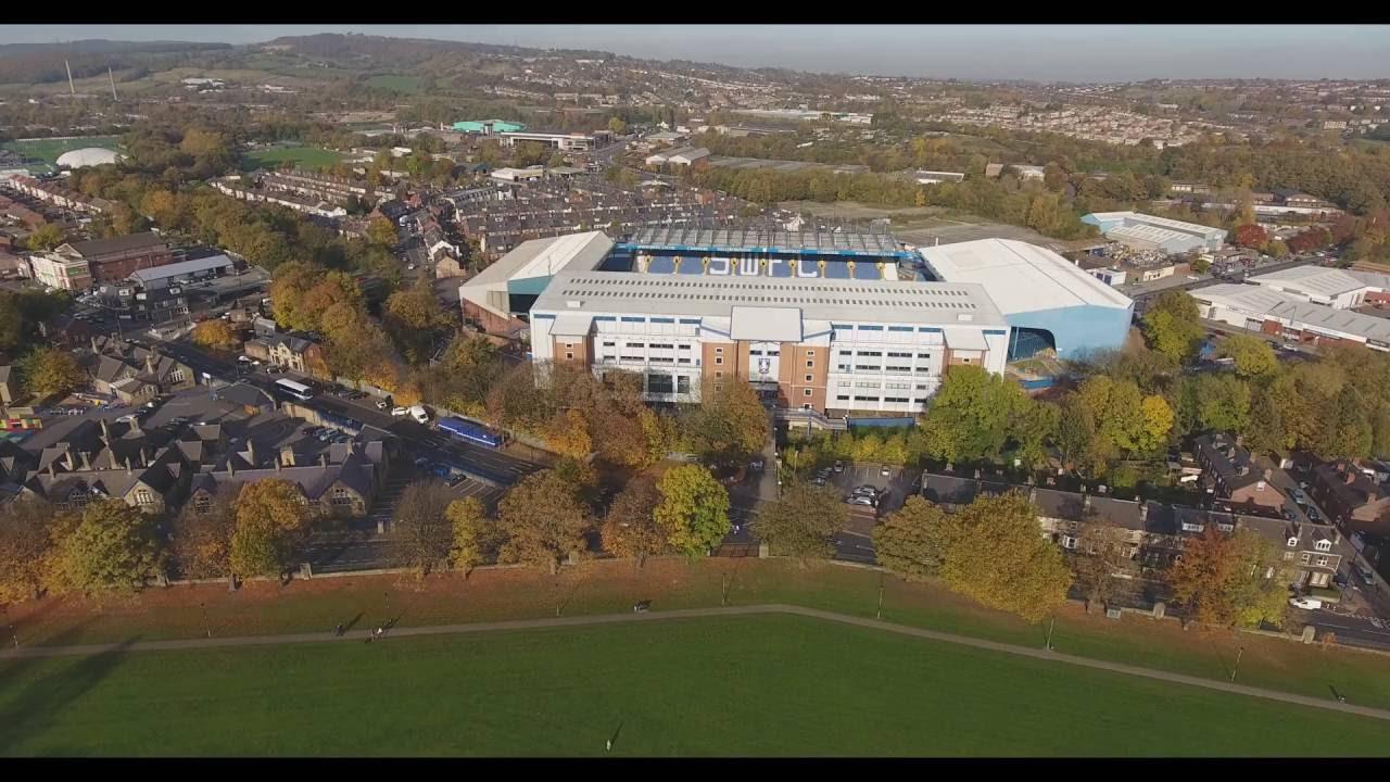 Dji Phantom 2 >> Sheffield Wednesday's Hillsborough Stadium in 4k - YouTube