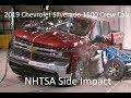 2019-2020 Chevrolet SIlverado/GMC Sierra 1500 Crew Cab NHTSA Side Impact