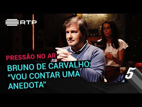 Bruno de Carvalho: 'Vou contar uma anedota' | 5 Para a Meia-Noite | RTP