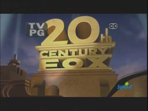 Sprout Ice Age Promo + 20th Century Fox (2002) with TV PG & CC bug
