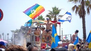 PRIDE PARADE IN TEL AVIV  - Israel Vlog thumbnail