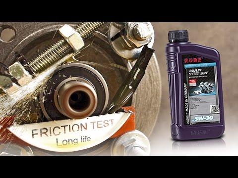 Rowe Multi Synt dpf 5W30 Jak skutecznie olej chroni silnik?