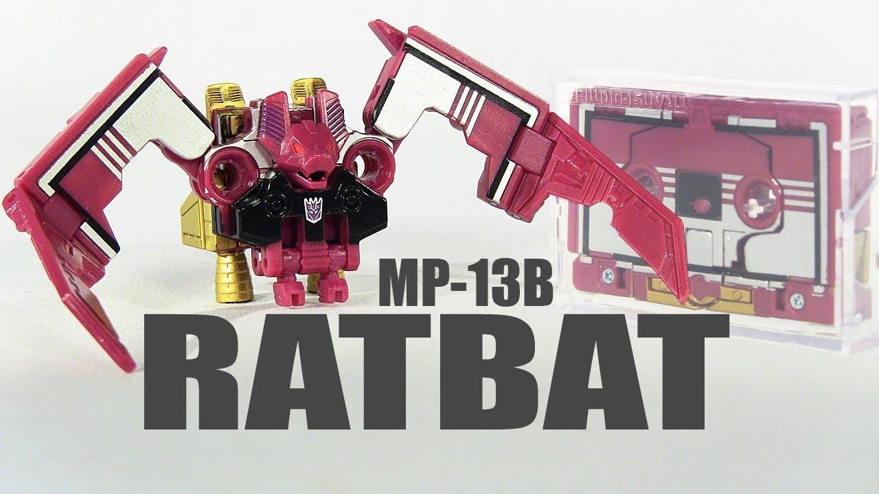 NEW Transformers Masterpiece MP13B Ratbat Cassette In stock