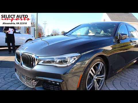 2016 BMW 750i xDrive M Sport PKG Singapore Gray Select Auto Imports in Alexandria, VA #19300