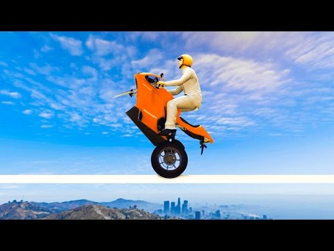 Thumbnail: HARDEST MOTORBIKE RACE EVER CREATED! (GTA 5 Funny Moments)