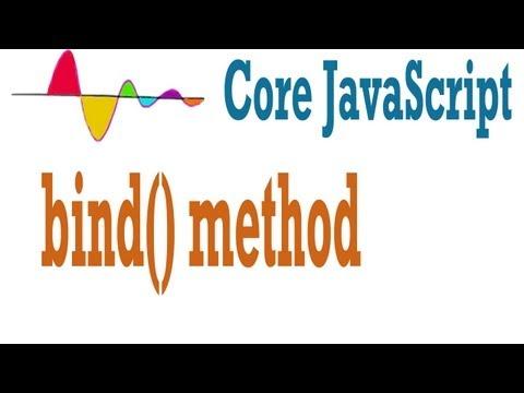 JavaScript Tutorial - bind method