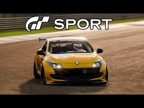 Gran Turismo Sport - Dragon Trail: Seaside (Renault Megane) Beta Gameplay @ 1080p (60ᶠᵖˢ) HD ✔