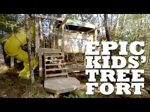 Epic Kids' Tree Fort