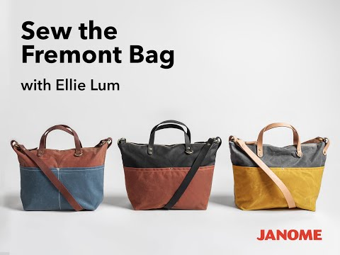 Sew the Fremont Bag Series Trailer
