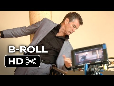 The November Man B-ROLL 2 (2014) - Pierce Brosnan Action Movie HD