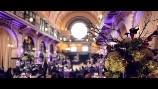 SUZANNE + CHAD {wedding at crowne plaza union station | indianapolis wedding videographer}