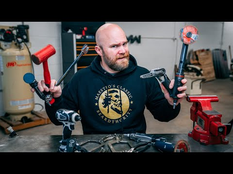 The First Five Tools For Metal Working & Fabrication