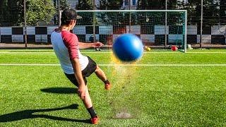 ULTIMATIVE LATTENSCHIEßEN FUßBALL CHALLENGE !