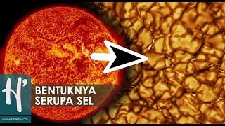 Bentuk Permukaan Matahari yang Sebenarnya