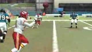 Madden NFL 08 - Singleback Slot Strong - WR Double Pass