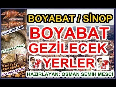 Boyabat Gezilecek Yerler, Sinop Boyabat Tanıtım Filmi, Boyabat/Turkey Promotion Film