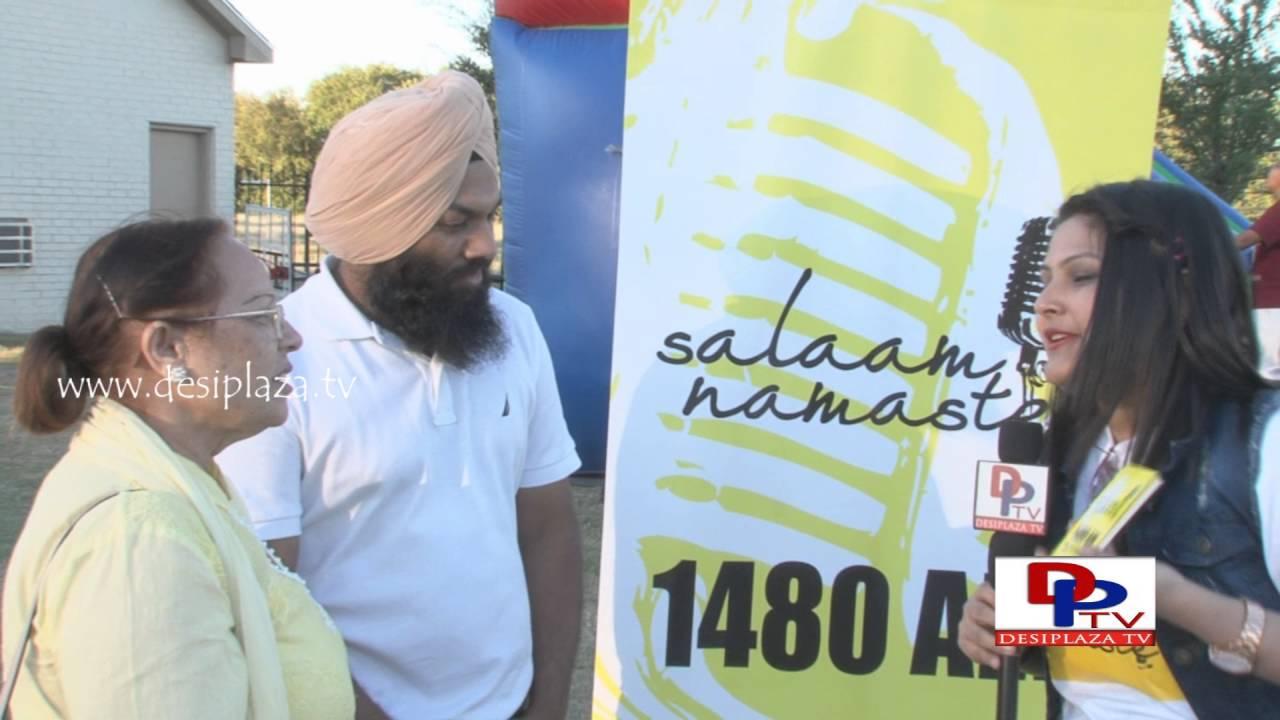 People talking to Desiplaza about Salam Namaste