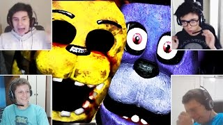 4 FACECAMS! - Five Nights at Freddy's Doom MULTIPLAYER!