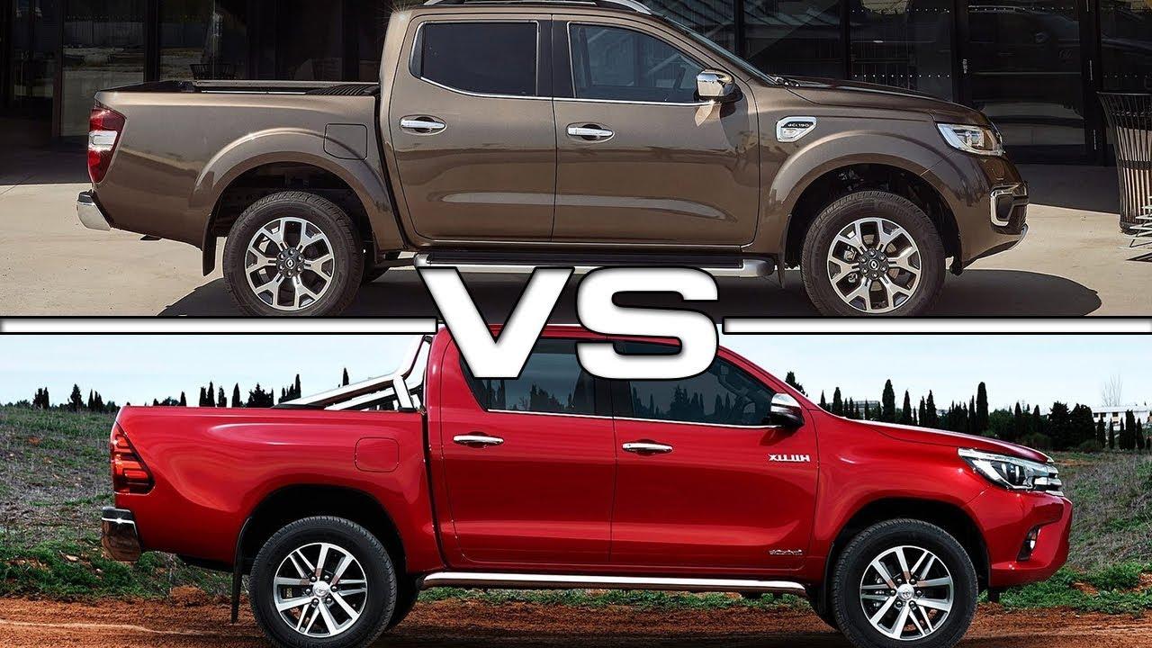 Renault Alaskan 2018 >> 2018 Renault Alaskan vs 2017 Toyota HiLux - YouTube