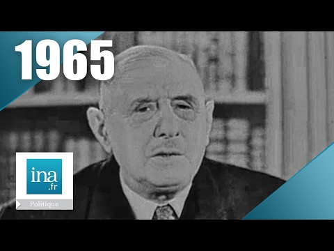 Charles de Gaulle - Campagne présidentielle 1965 | Archive INA
